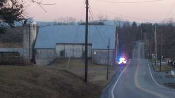 The nitroglycerine in the TNT crystallized over the years and was unstable, according to Reitz. The Pennsylvania State Police bomb squad soaked the dynamite to stabilize it then transported it to an explosives business nearby where it was neutralized. There was so much dynamite that two trips were made.