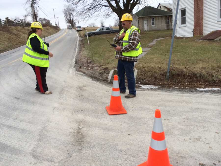Police later identified the worker as Benedict Todt, 55, of Gardeners, Adams County.