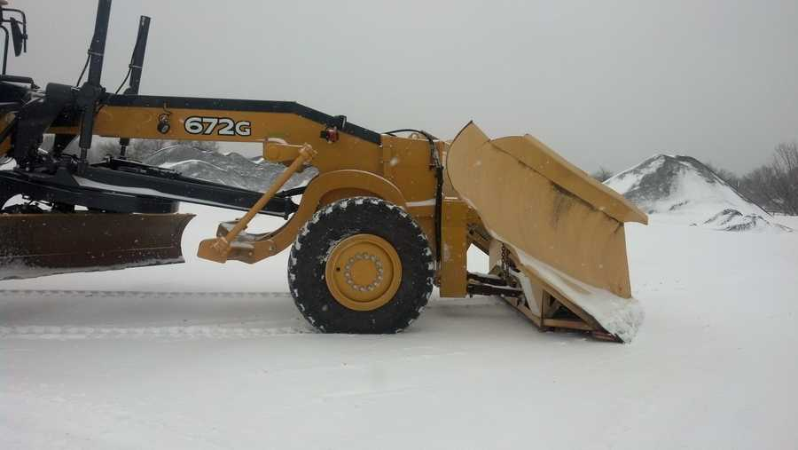 Unlike other plows, they'll be able to push through feet of drifted show without problems.