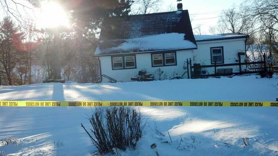 Officers were dispatched to this home along the 500 block of South Franklin Street in York Township around 11 p.m. Tuesday, according to York Area Regional Police.