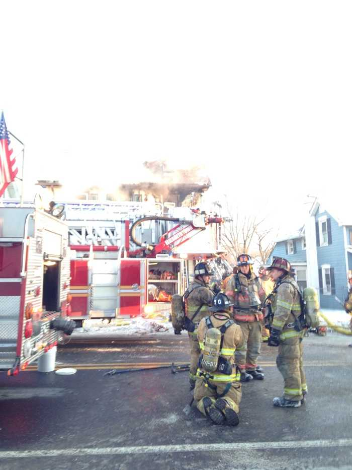 The fire started in a child's bedroom. Investigators think it was an electrical problem.