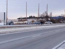 The incident closed the southbound lanes of I-81 from Exit 17 to Exit 20 for more than five hours on Sunday.