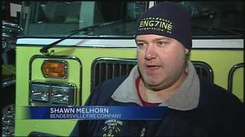 """There was a turn there. She went between a telephone pole and a wood lot and ended up in a ditch,"" said Shawn Melhorn, with the Bendersville Fire Company."