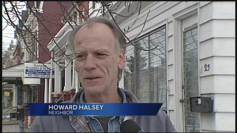"""""""It started to look like glaciers,"""" said resident Howard Halsey, whose car was partially frozen. """"We dealt with it. We handled it. Hopefully it will warm up a little bit and it will all go away soon."""""""