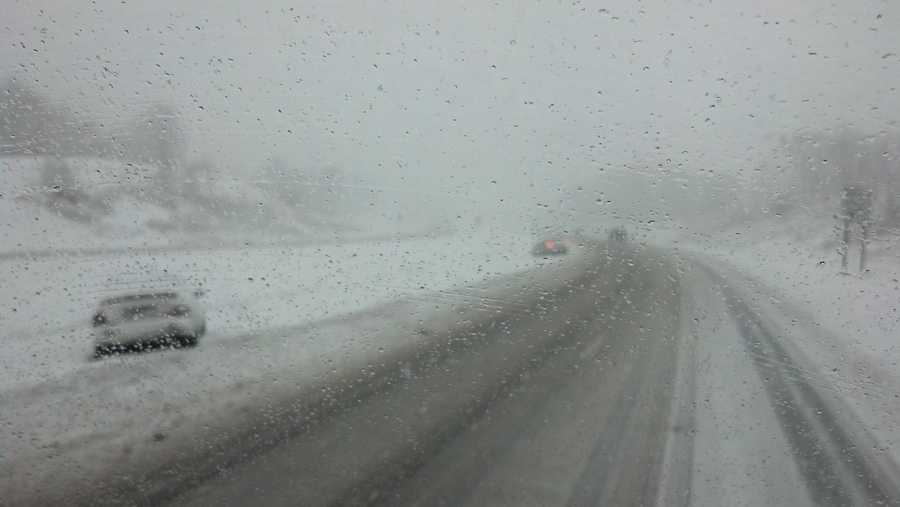 Route 222 northbound in Manheim Township, 9:10 a.m. Monday.