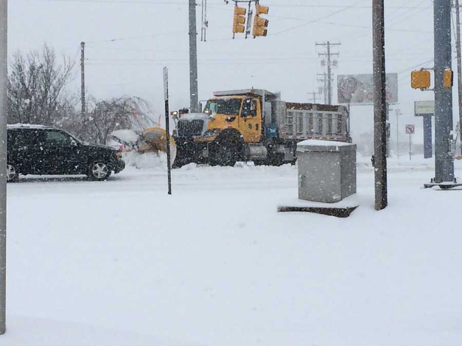 Cape Horn Road and Lombard Road, York County, 9:50 a.m. Monday.