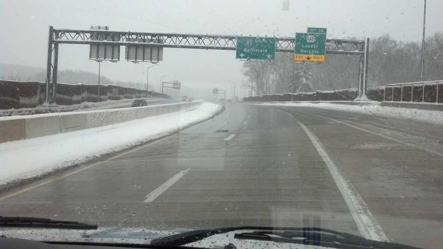 I-83 South at Leader Heights, 1:50 p.m. Monday.