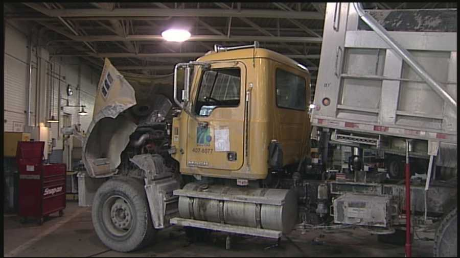 In Lancaster County, PennDOT crews were working 12-hour-on, 12-hour-off shifts to keep the agencies fleet of plow trucks operating.
