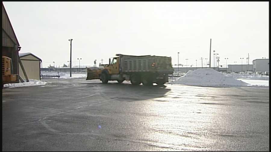 PennDOT facility, Lancaster County, Tuesday morning.