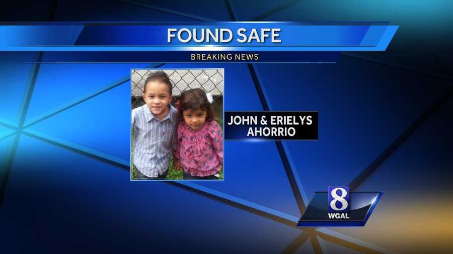 Police say the children were abducted from a home on Almanac Avenue in Lancaster on Thursday night.