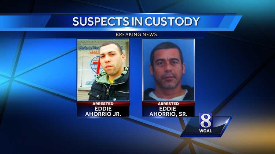 Police said the abductors were the children's father and grandfather, Eddie Ahorrio Jr. and Eddie Ahorrio Sr. Police said they were armed with a gun and wrench.