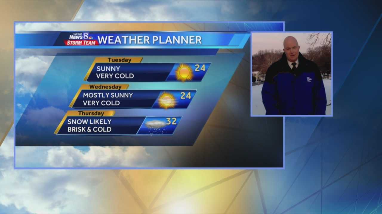 News 8 at 5:00 weather