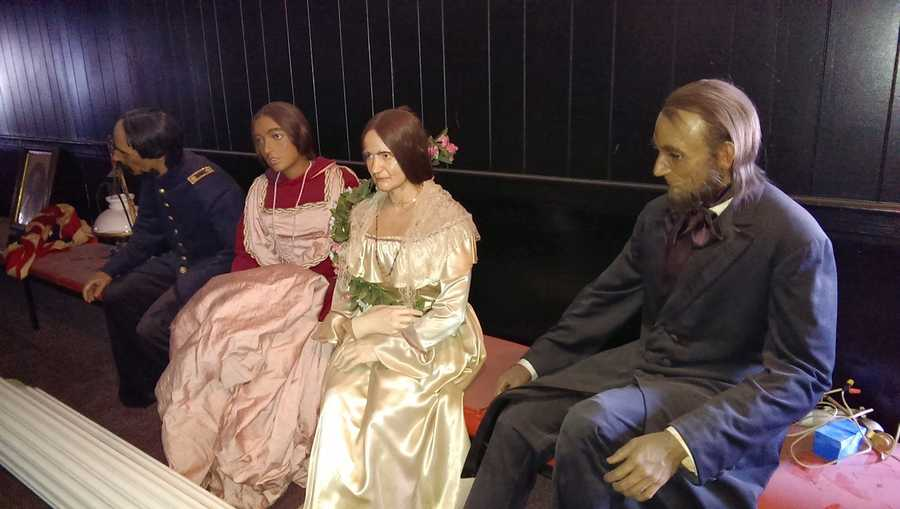 Staff at The American Civil War Wax Museum said all of the figures are based on real people. The museum is auction off the figures as it transforms into the Gettysburg Heritage Center, which will focus on what civilian life was like in Gettysburg before, during and after the battle.