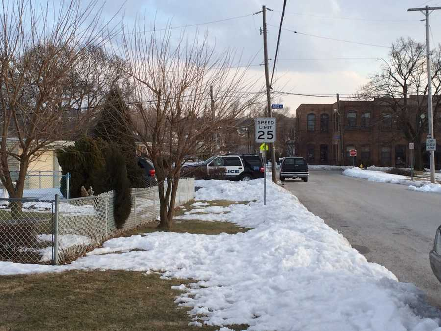 York City Police were on the scene at Phineas Davis Elementary School Thursday afternoon.