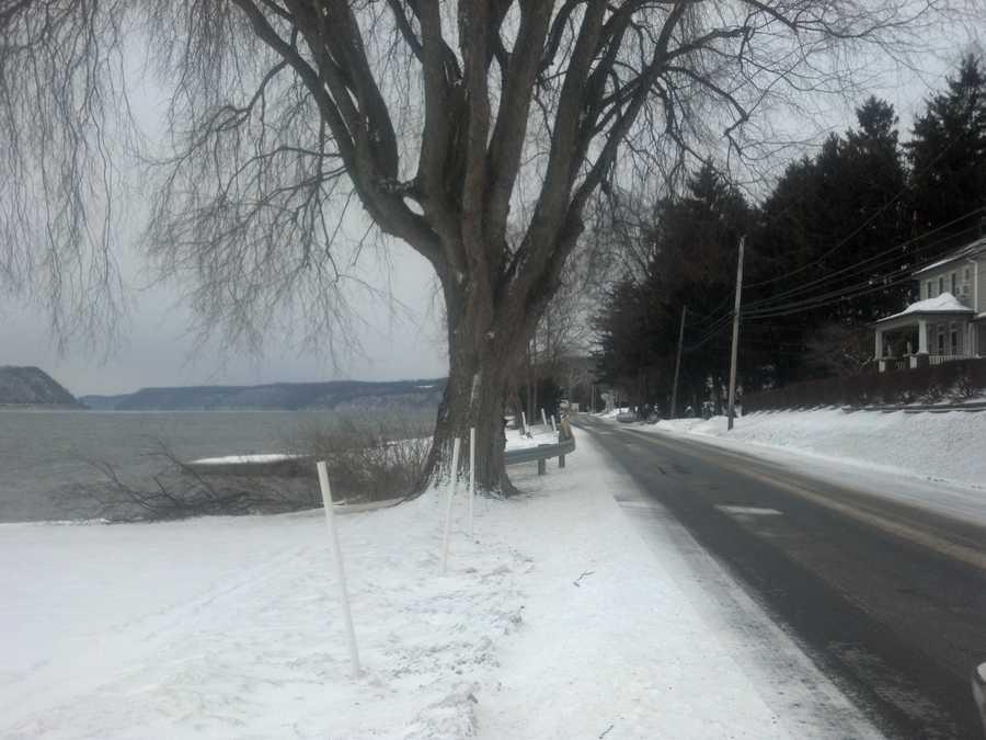 Monday morning, Susquehanna River near Long Level, York County.