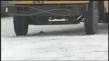 A school bus struck a 6-year-old boy Monday morning in Millersville, Lancaster County.