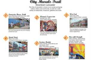 See beautiful mural arts portraying culture, history and community in Mount Joy and Elizabethtown, PA. Go to www.padutchcountry.com to learn more.
