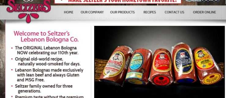 Taste an original product of Lebanon County: Seltzers Bologna. Go to www.seltzerslebanon.com to learn more.