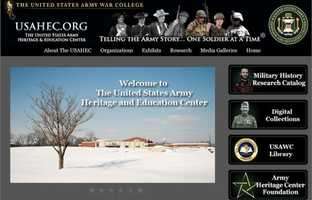 Learn about the history of the U.S. Army at the U.S. Army Heritage and Education Center in Carlisle, PA. Go to www.carlisle.army.mil/ahec to learn more.