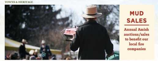 Make a bid at an Amish Mud Sale. These annual auctions are named for the condition of the thawing ground and offer bargains on Amish quilts, antiques, lumber, buggies and more. Seewww.padutchcountry.com.