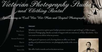 Get an old-time photo taken! Victorian Photo Studio in Gettysburg specializes in Civil War images. Go to www.victorianphotostudio.com to learn more.