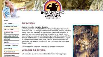See stalactites, stalagmites, columns and flowstone firsthand at Indian Echo Caverns in Hummelstown, PA. Visit www.indianechocaverns.com to learn more.