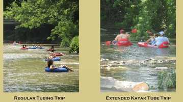 Go tubing! Sickman's Mill Creek Tubing in Pequea, PA offers rides along the Pequea Creek. Visit www.sickmansmill.com to learn more.
