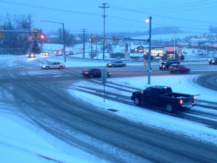 Shrewsbury, York County, 7:20 a.m. Monday.