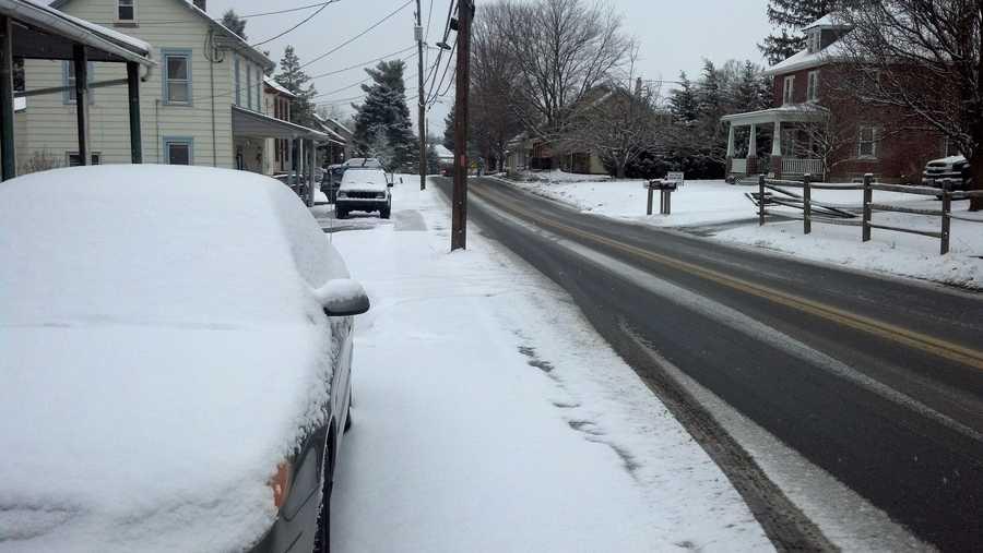Main Street, Conestoga Township, Lancaster County, 8:30 a.m. Monday.
