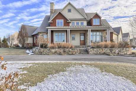This beautiful Lititz home includes four bedrooms, five bathrooms, over 4,100 sq ft of living space, and is situated on .5 acres of land. The home is featured on realtor.com.Location: 388 Wheatfield Dr, Lititz, PA 17543