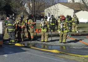 The fire happened at a home along Den Mar Drive in Martic Township.