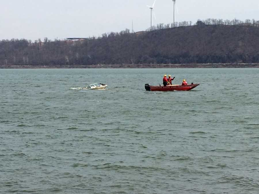 Officials have not yet said whether the boat is the same one the missing couple took out.