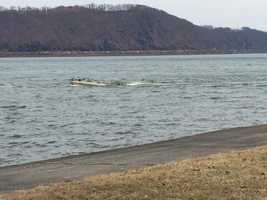 """""""Obviously we are concerned,"""" Sowers said on Tuesday. """"They put a boat in the river in not ideal conditions and they haven't been seen or heard from since. We do have a high level of concern."""""""