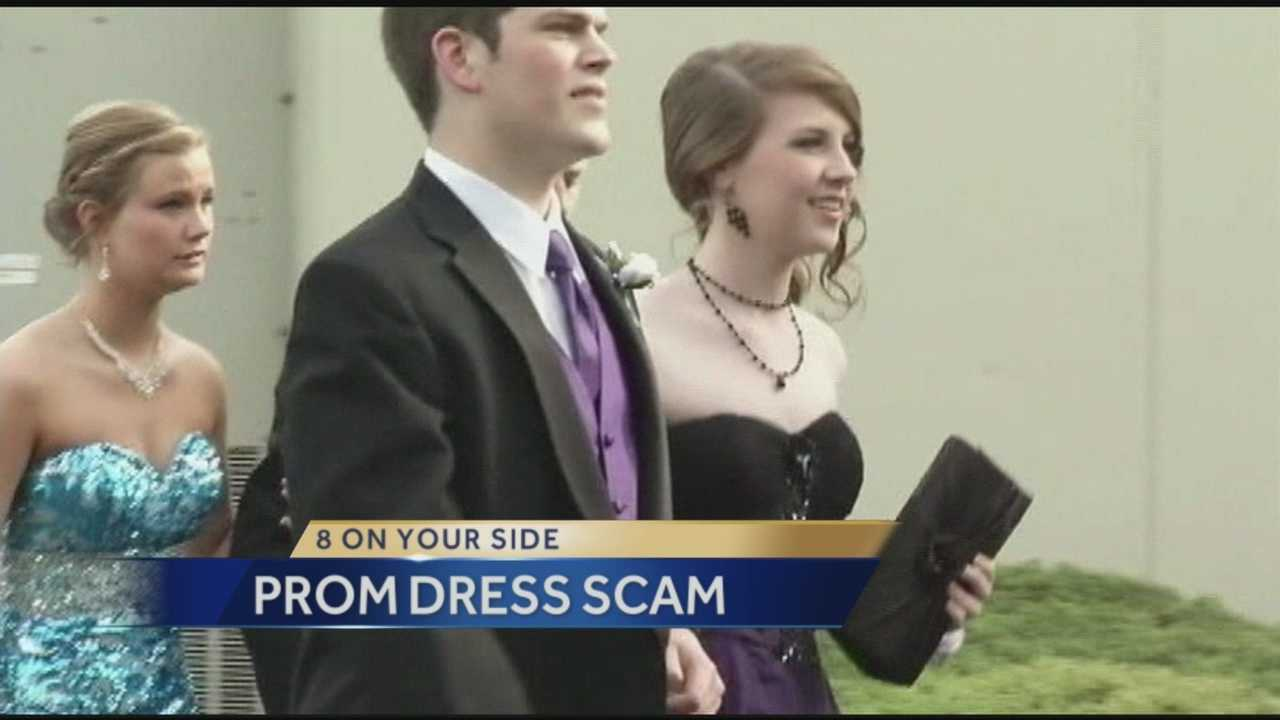 8 On Your Side: Prom dress scam 3.31.14