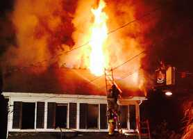 This fire at a Mountville home on Monday night claimed one man's life.