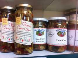 """Canned goods like """"chow chow"""" are a popular tourist find in Lancaster County."""