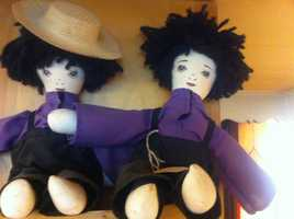 Amish-themed dolls come in all shapes and sizes.