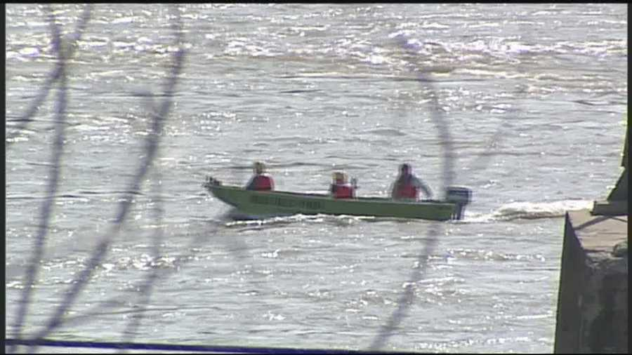 Firefighters say a family of five is lucky to be alive after they were thrown into the Susquehanna River over the weekend.