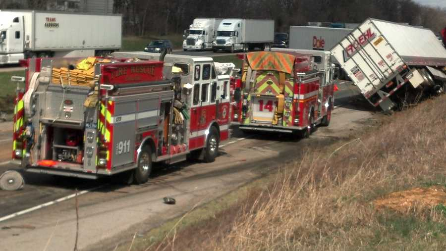Northbound I-81 is expected to stay closed at mile marker 47.5 for at least several hours.