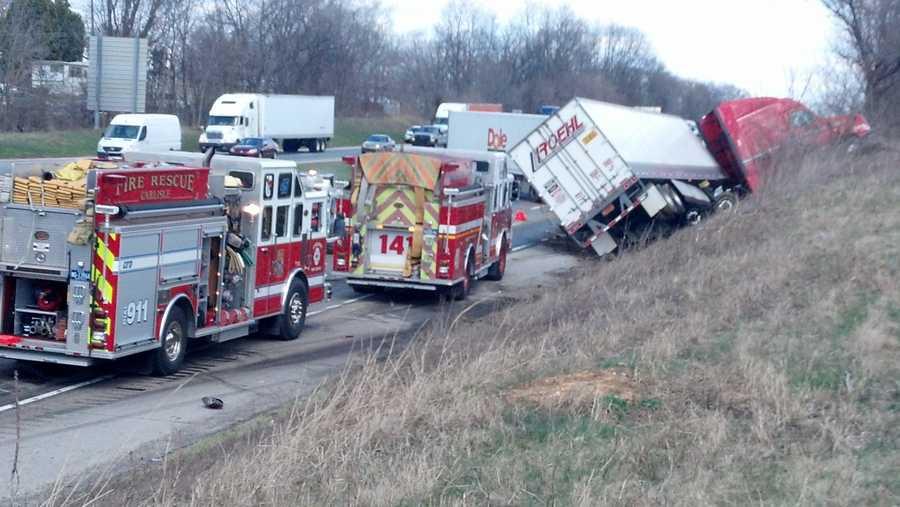 The crash happened around 1:30 p.m. near mile marker 47.