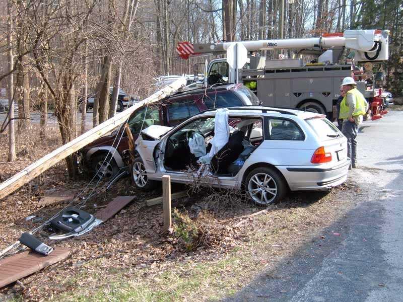 The crash happened at 3:45 p.m. on SR 72 at Spring Hill Lane.