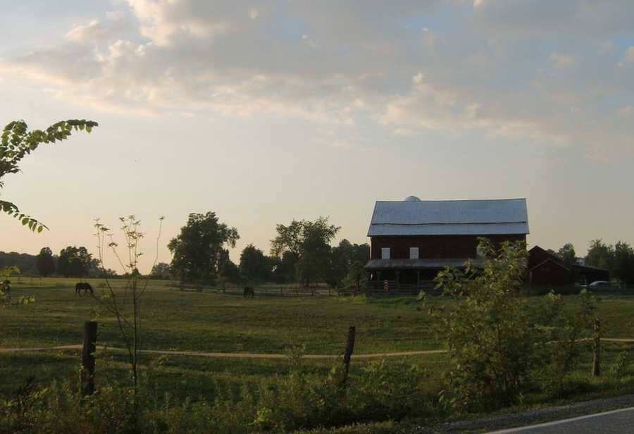 22:The Mason-Dixon Line runs through Antrim Township in South Central PA. Image:https://creativecommons.org/licenses/by-nd/2.0/