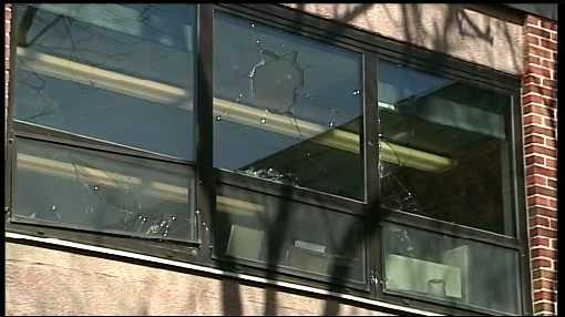 Police are still searching for the suspect of a vandalism spree at Penn State's York campus.
