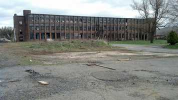 The historic Stehli & Co. Silk Mill in Manheim Township has been abandoned for years.