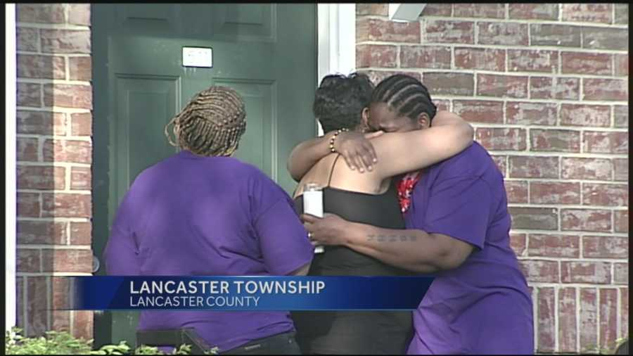 Family and friends hold a vigil on Tuesday, May 6.
