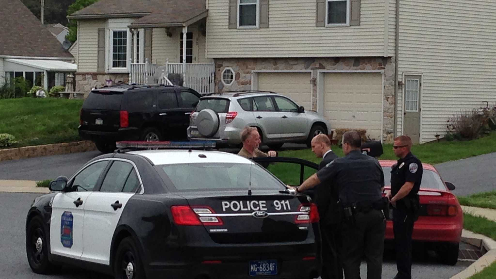 Police were dispatched to the residence of a man threatening to harm himself in East Cocalico Township on Wednesday afternoon.