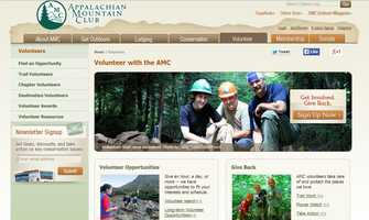 There are many ways to volunteer with the Appalachian Mountain Conservation Action Network! If you love the idea of being outdoors to volunteer, check out www.outdoors.org to learn more.