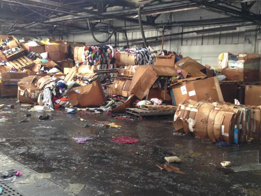 The Volunteers of America warehouse lost $250,000 in merchandise because of the fire.