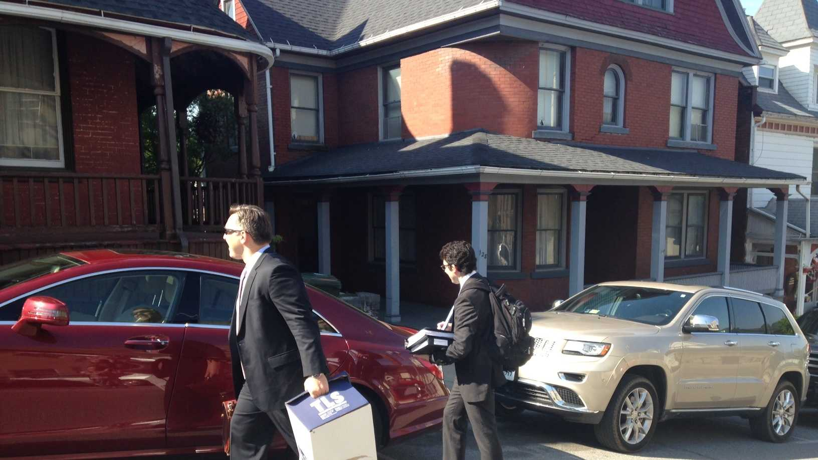Attorneys head into Monday's hearing.