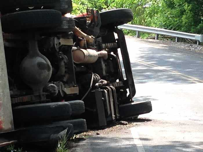 The crash shut down Elizabethtown Road between Newport and Route 72 for several hours.